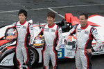 #5 Navi Team Goh Porsche RS Spyder: Keisuke Kunimoto, Seiji Ara, Sascha Maassen