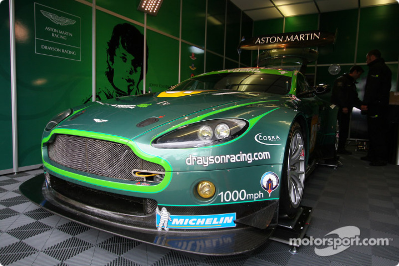 #87 Drayson Racing Aston Martin Vantage: Paul Drayson, Jonny Cocker, Marino Franchitti
