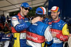 Bruno Senna, Stéphane Ortelli and Tiago Monteiro
