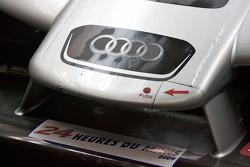 Audi Sport Team Joest Audi R15 TDI front wing detail