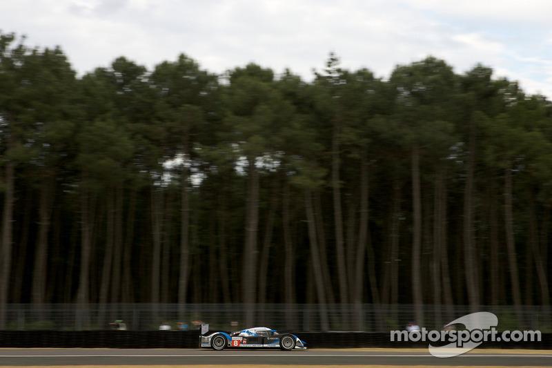 #8 Team Peugeot Total Peugeot 908: Stéphane Sarrazin, Franck Montagny, Sébastien Bourdais