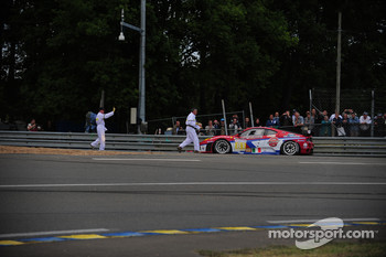 Trouble for Patrick Dempsey at Indianapolis corner