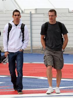 Sebastien Buemi, Scuderia Toro Rosso, Sébastien Bourdais, Scuderia Toro Rosso