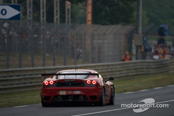 #82 Risi Competizione Ferrari F430 GT: Jaime Melo, Pierre Kaffer, Mika Salo