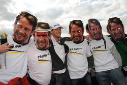 Jenson Button, Brawn GP and some fans