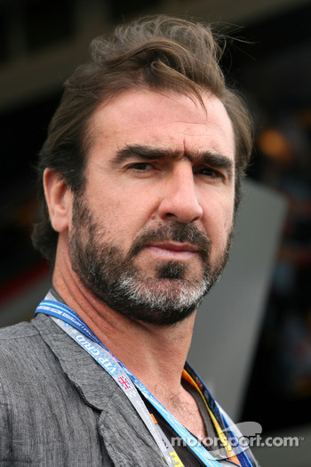 Eric Cantona, former french football player