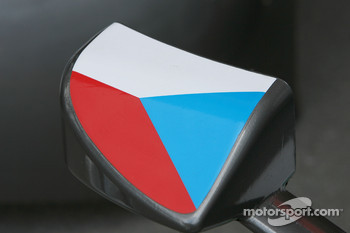 Rear mirror of Thomas Kostka, Futurecom BRT, Audi A4 DTM