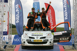 Podium: Kevin Abbring and Erwin Mombaerts