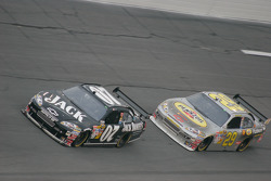 Casey Mears, Richard Childress Racing Chevrolet and Kevin Harvick, Richard Childress Racing Chevrolet
