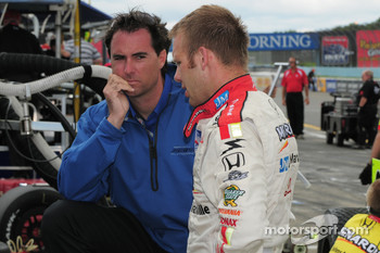 Bryan Herta advising Ed Carpenter, Vision Racing
