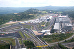 Aerial views of the Nurburgring and the new development and facilities around it
