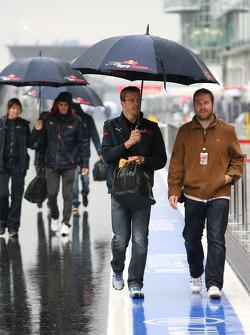 Sébastien Bourdais, Scuderia Toro Rosso and Jaime Alguersuari, Test Driver, Red Bull Racing