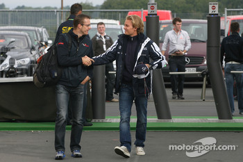 Sébastien Bourdais, Scuderia Toro Rosso and Nico Rosberg, Williams F1 Team