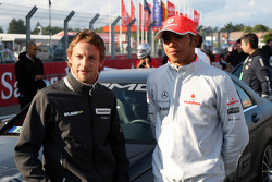 Jenson Button, Brawn GP, Lewis Hamilton, McLaren Mercedes