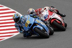 Loris Capirossi, Rizla Suzuki MotoGPand Niccolo Canepa, Pramac Racing