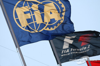FIA and F1 Flags