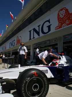 Robert Kubica, BMW Sauber F1 Team