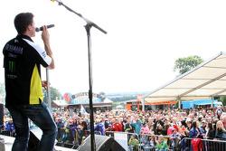 James Toseland, Monster Yamaha Tech 3 entertains the fans
