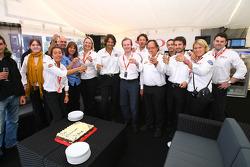 Birthday celebrations for Stéphane Ratel