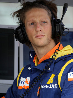 Romain Grosjean, Renault F1 Team, Test Driver