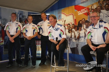 Malcolm Wilson announces Ford's driver line up for the next two seasons, and was delighted to confirm that both Mikko Hirvonen and Jari-Matti Latvala will lead the team in 2010 and 2011