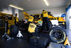 The DeWALT crew goes to work on their Ford Fusion