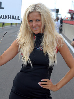 VX Racing Grid Girl