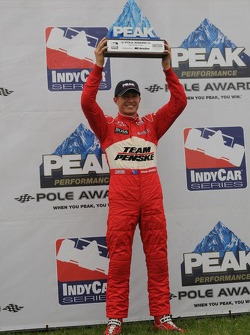 Pole winner Ryan Briscoe