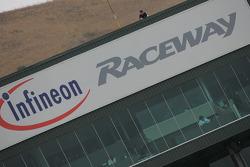 Infineon Raceway building