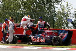 Lewis Hamilton, McLaren Mercedes, Jaime Alguersuari, Scuderia Toro Rosso