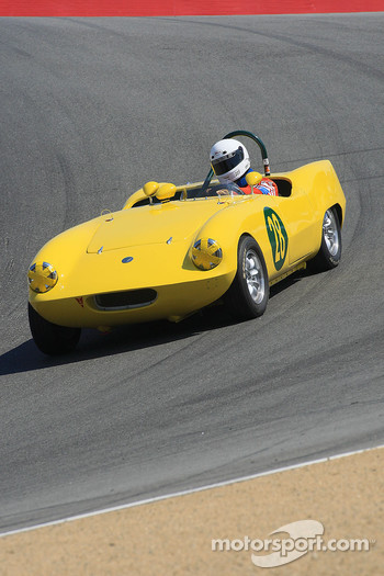 Robert Walker, 1958 Elva Courier