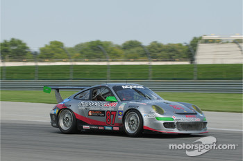 #87 Farnbacher Loles Racing Porsche 911 GT3: Dirk Werner, Leh Keen