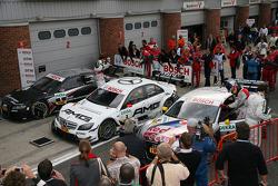 Race winner Paul di Resta, Team HWA AMG Mercedes AMG Mercedes C-Klasse enters parc fermé