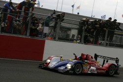 #10 Team Oreca Matmut - AIM Courage-Oreca LC70 - AIM: Olivier Panis, Nicolas Lapierre takes the checkered flag