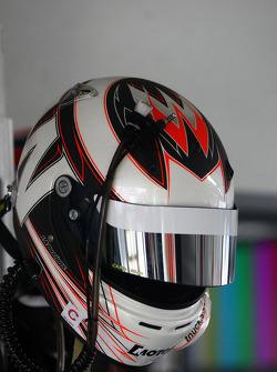 Helmet of Warren Luff