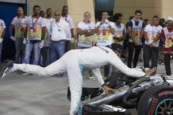 Third place Lewis Hamilton, Mercedes AMG F1 Team