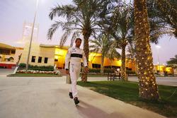 Jenson Button, McLaren in the paddock