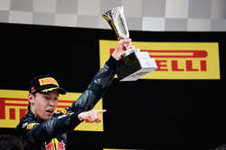 Podium: third place Daniil Kvyat, Red Bull Racing