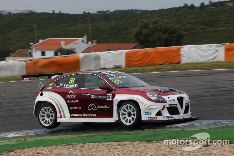 Michela Cerruti, Mulsanne Racing at Estoril