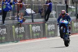 Maverick Viñales, Team Suzuki MotoGP takes third place