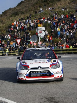 Evgeny Novikov and Stephane Prévot, Citroen Junior Team Citroen C4 WRC