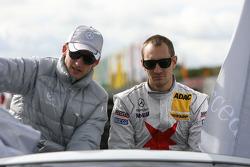 Maro Engel, Mücke Motorsport, AMG Mercedes C-Klasse, Mathias Lauda, Mücke Motorsport, AMG Mercedes C-Klasse