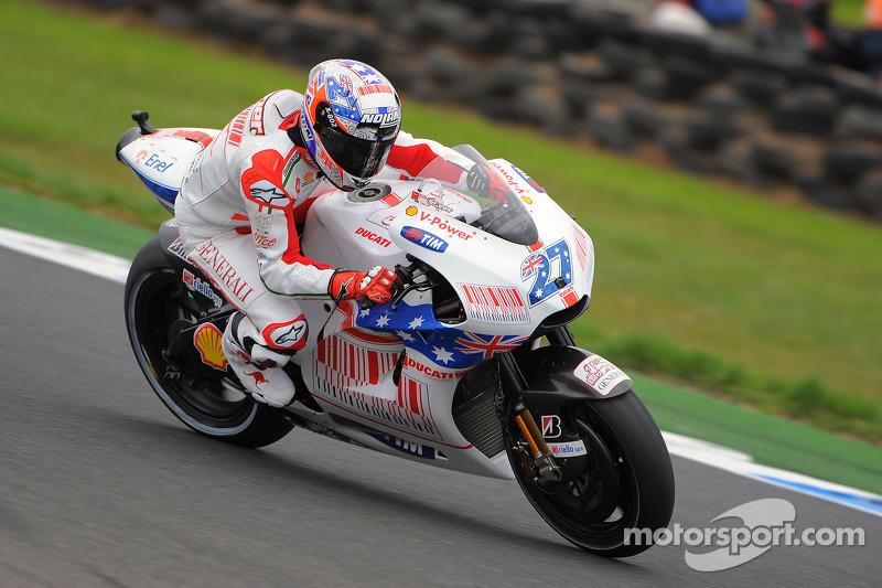 2009: Casey Stoner (Ducati Desmosedici GP9)