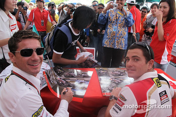 Lucio Cecchinello and Randy De Puniet, LCR Honda MotoGP
