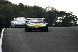 #8 Sangari Team Brazil Corvette Z06: Enrique Bernoldi, Roberto Streit, #19 Luc Alphand Aventures Corvette C6R: Xavier Maassen, Thomas Biagi