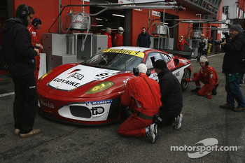 #95 Pecom Racing Ferrari F430: Luis Perez Companc, Matias Russo