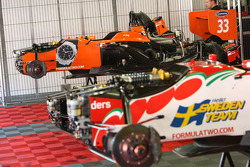 Cars of Philipp Eng and Sebastian Hohenthal