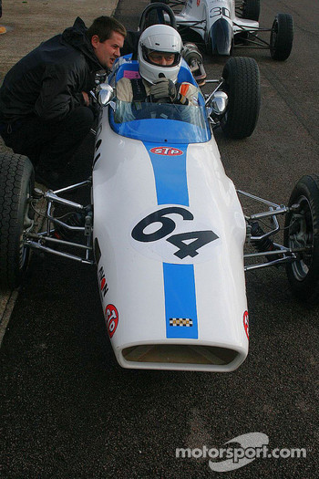 Matthew Sturmer in a Macon MR8