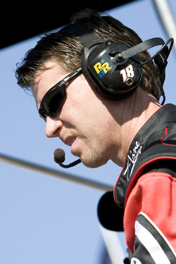 Jason Ratcliff, crew chief for the No. 18 Z-Line Designs/WWE Smackdown vs Raw Toyota