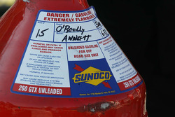 Fuel tank sticker